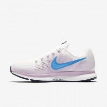 Nike Air Zoom Running Shoes Womens White/Rose/Blue RX2507TA