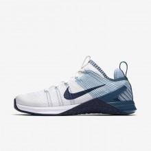 Nike Metcon DSX Flyknit 2 Training Shoes Womens White/Blue/Navy SF8552KE