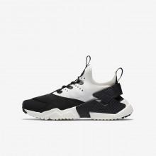 Nike Huarache Lifestyle Shoes Boys Black/White SM9693UD