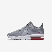 Nike Air Max Sequent 3 Running Shoes Boys Grey/Dark Grey/Platinum/Dark Grey SO9197YA
