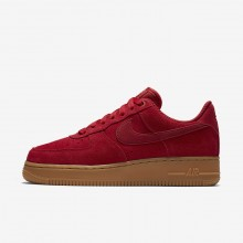 Nike Air Force 1 Lifestyle Shoes Womens Red/Light Brown/Red SQ5706HN