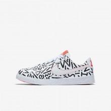 Nike Blazer Lifestyle Shoes Boys White/Black/Light Red/White ST8371AU
