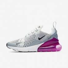 Nike Air Max 270 Lifestyle Shoes Womens Grey/Fuchsia/Black TC5599HN