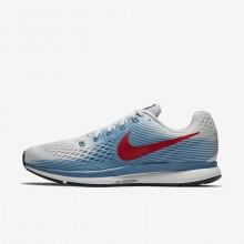 Nike Air Zoom Running Shoes Mens Grey/Blue/Red TE1034CW
