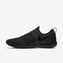 Nike Free TR Training Shoes Womens Black/Dark Grey/Black TE7877QY