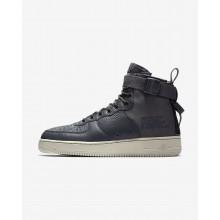 Nike SF Air Force 1 Lifestyle Shoes Mens Dark Grey/Dark Grey TF5067MF