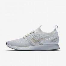 Nike Air Zoom Lifestyle Shoes Mens Platinum/White/Dark Grey TJ1236FY