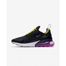 Nike Air Max 270 Lifestyle Shoes Mens Black/Purple/Yellow TL8250LH
