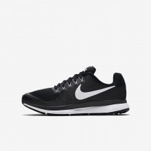 Nike Zoom Running Shoes Boys Black/Dark Grey/Dark Grey/White TU7959EN