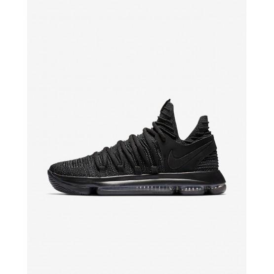 Nike Zoom KDX Basketball Shoes Womens Black/Dark Grey/Black TU9868VT