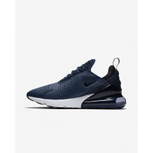 Nike Air Max 270 Lifestyle Shoes Mens Navy/White/Black UD3509TP