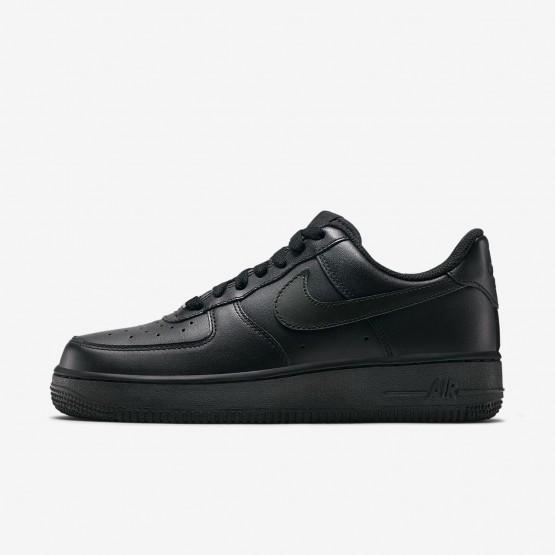 Nike Air Force 1 Lifestyle Shoes Womens Black UG5676MW