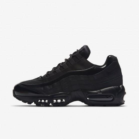 Nike Air Max 95 Lifestyle Shoes Womens Black/Black UV2271LK