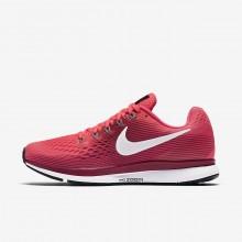 Nike Air Zoom Running Shoes Womens Pink/Grey UV2936YZ