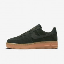 Nike Air Force 1 Lifestyle Shoes Womens Green/Brown/White/Green UX7782ZB