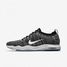Nike Air Zoom Training Shoes Womens Black/Grey/White UZ8379XF