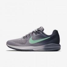 Nike Air Zoom Running Shoes Womens Purple/Blue/Dark Grey/Green VA4499UL