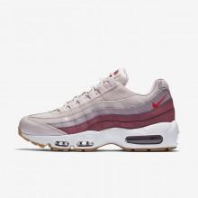 Nike Air Max 95 Lifestyle Shoes Womens Rose/White VC3556WO