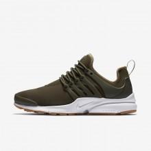 Nike Air Presto Lifestyle Shoes Womens Khaki/Olive/Light Brown/Khaki VK2738LF