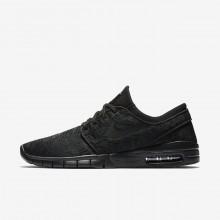 Nike SB Stefan Janoski Max Skateboard Shoes Mens Black/Dark Grey/Black VM1534GK