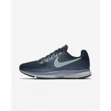 Nike Air Zoom Running Shoes Womens Navy/Grey/Black/Mint WC7342YA