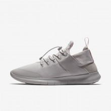 Nike Free RN Running Shoes For Women Grey/Pink WP2996SM