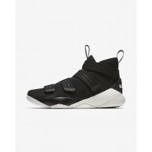 Nike LeBron Soldier XI Basketball Shoes Womens Black/Blue WV4097RB