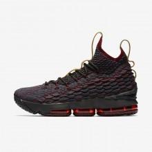 Nike LeBron 15 Basketball Shoes Womens Dark Turquoise/Red/Brown XB9019JY