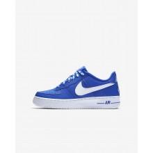 Nike Air Force 1 Lifestyle Shoes Boys Royal/White XJ3946BJ
