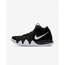Nike Kyrie 4 Basketball Shoes Mens Black/Dark Grey/Light Blue/White XZ1767MJ