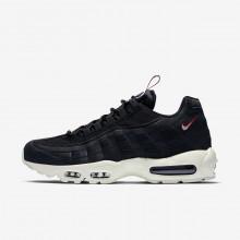 Nike Air Max 95 Lifestyle Shoes Mens Black/Red YG4127XT