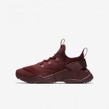 Nike Huarache Lifestyle Shoes For Boys Red/White YG6144NR