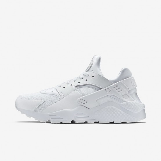 Nike Air Huarache Lifestyle Shoes Mens White/Platinum/White ZE9722GK