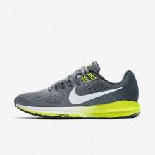 Nike Air Zoom Running Shoes Mens Grey/Dark Grey/White ZF4995CQ
