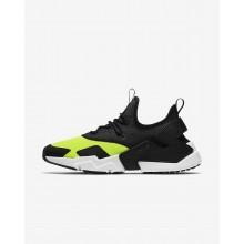 Nike Air Huarache Drift Lifestyle Shoes Mens White/Black ZJ5421WL