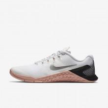 Nike Metcon 4 Training Shoes Womens White/Pink/Black/Metallic Silver ZM4170SP