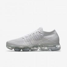 Nike Air VaporMax Flyknit Running Shoes Womens White ZR2043DP