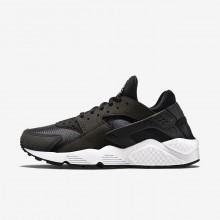 Nike Air Huarache Lifestyle Shoes Womens Black/White/Black ZU3840JE