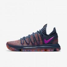 Nike Zoom KDX Basketball Shoes Womens Red/Fuchsia ZV7986YC