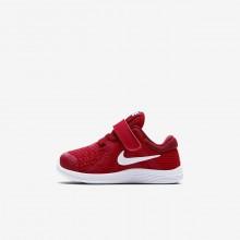 Nike Revolution 4 Running Shoes Girls Red/Black/White ZX5378RF